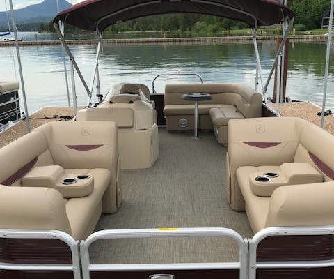 Sweetwater Pontoon Boat - Handicap